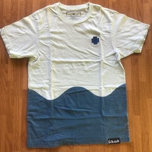 Pink Dolphin Waves T Shirt Size S